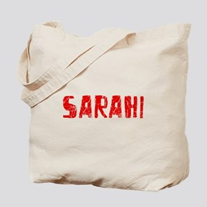 Sarahi Faded (Red) Tote Bag